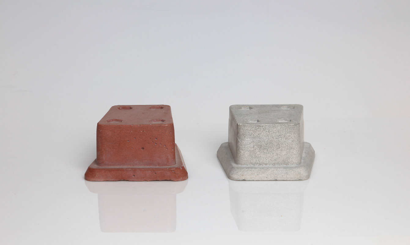 Magnesite Abrasive Filled Mold